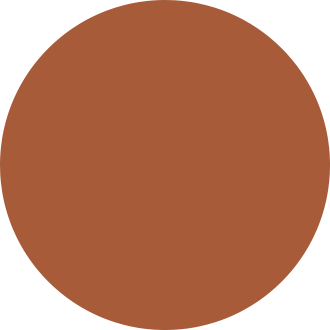Brown circle